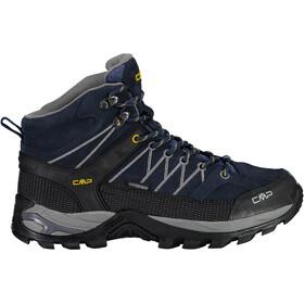 CMP Campagnolo Rigel WP Chaussures de trekking mi-hautes Homme, black blue/graffite
